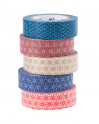 Washi MT pásky s geometrickými vzory