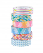 Washi MT pásky barevné