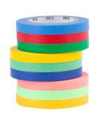 Washi MT pásky slim monochrom