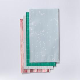 Ručně lepený papírový sáček velký