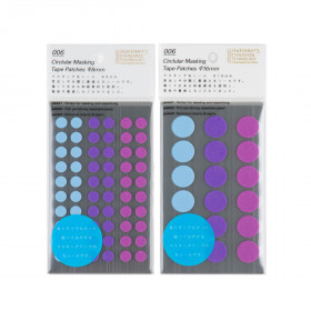 Stalogy Masking Dots blue-purple
