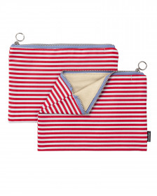 Fabric zipper case M