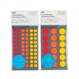 Stalogy Masking Dots yellow-red
