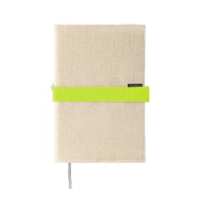 Deník v látkovém obalu - režné plátno 1