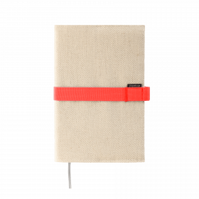 Deník v látkovém obalu - režné plátno 2