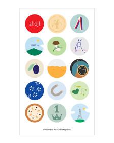 Bohemia stickers