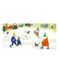 Alžběta Zemanová Postcard - Winter