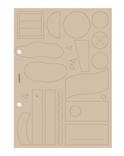 Sticky labels A5