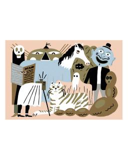 Nikola Logosova Postcard - Spooks