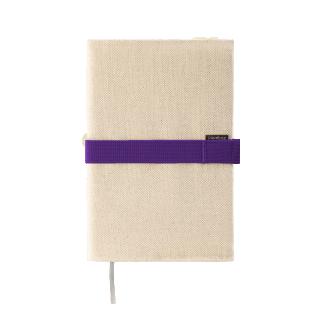 Deník v látkovém obalu - režné plátno 3