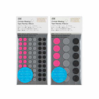 Stalogy Masking Dots black-pink