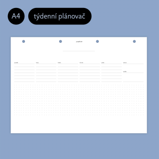 Planblok A4 (weekly)