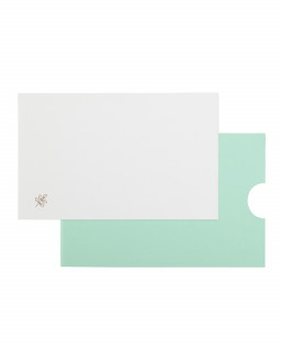 Compliment slips with paper wallet – twig