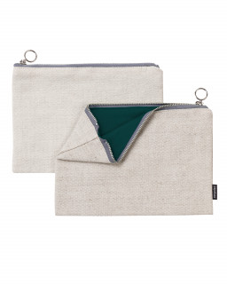 Fabric zipper case M