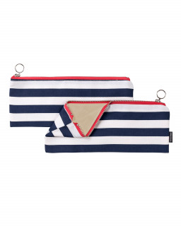Fabric zipper case S