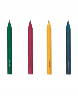 Dyed pencils short