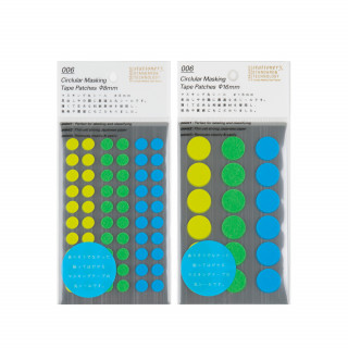 Stalogy Masking Dots green-blue