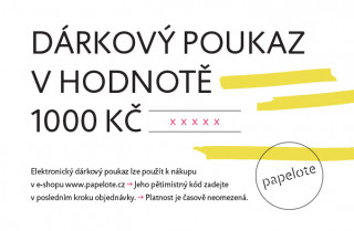 Electronic gift card - CZK