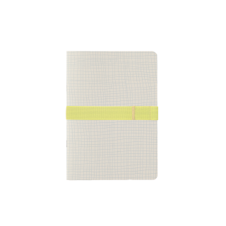 Notebook A5 limited with elastic pen loop
