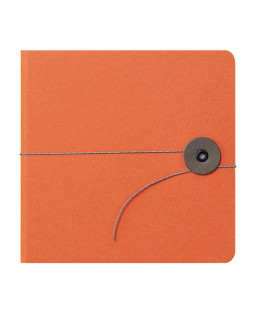 Photo Album small orange